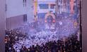 Señor de los Milagros salió en su primera procesión por las calles del Centro de Lima [FOTOS]
