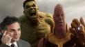 Mark Ruffalo revela nombre oficial de Avengers 4 y cómo vencerán a Thanos [VIDEO]
