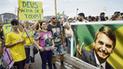 Bolsonaro y Haddad prosiguen con mutuos ataques