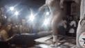 Facebook: celebra su despedida de soltero en 'night club', llega su novia y ocurre lo peor [VIDEO]