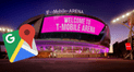 Google Maps: así luce el T-Mobile Arena, el lugar donde McGregor y Nurmagomedov disputarán el peso pluma de la UFC [FOTOS]