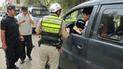Elecciones 2018: PNP detuvo a sujeto por tener publicidad política en su auto