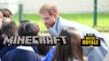 El príncipe Harry le dice a los niños que jueguen Minecraft y no Fortnite