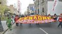Gremios de Arequipa se suman a paro en defensa de negociación colectiva