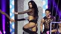 El Dúo Perfecto: Rosángela Espinoza llegó a bailar en atrevidas transparencias