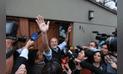 La celebración de Jorge Muñoz nuevo alcalde de Lima [FOTOS]