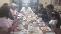 Elecciones 2018: Daniel Marcelo desayuna en familia [VIDEO]