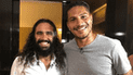 Paolo Guerrero realizó cánticos de Alianza Lima con Juan Pablo Sorín [VIDEO]