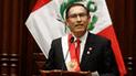 Martín Vizcarra anuncia que este martes convocará al referéndum