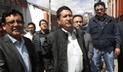 Elecciones 2018: Vladimir Cerrón, de Perú Libre, emitió su voto en el centro de Huancayo [VIDEO]