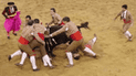 Youtube: Sufrió paro respiratorio al tratar de inmovilizar a toro [VIDEO]