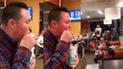Facebook: Joven sorprendió con 'beat box' en restaurante y curioso detalle se roba el show [VIDEO]