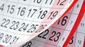 Feriados 2018: ¿Cuáles son los días sin laborar que quedan en el año?