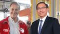 Jorge Muñoz se reunirá con el presidente Martín Vizcarra este martes