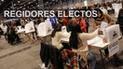 Elecciones 2018: los regidores electos en todos los distritos de Lima