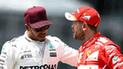 Fórmula 1: Lewis Hamilton pidió respetar la trayectoria de Vettel
