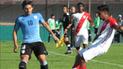 Selección Peruana sub 20 empató frente a Uruguay en amistoso
