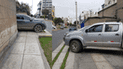 #YoDenuncio: vehículos estacionados en vereda impiden paso a transeúntes
