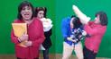 Facebook: comediante Carlos Álvarez imita a congresista que agredió a periodista en divertido sketch [VIDEO]