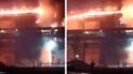 La Libertad: falla mecánica desató incendio en empresa agroindustrial [VIDEO]