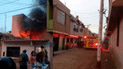 Chiclayo: incendio urbano causa alarma
