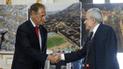 ¿De qué conversaron Jorge Muñoz y Luis Castañeda en la Municipalidad de Lima?