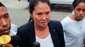 Concepción Carhuancho determina que hay riesgo de fuga por parte de Keiko Fujimori