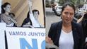 Mónica Sánchez se pronuncia tras la detención de Keiko, pero la trollean con Susana Villarán