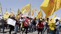 Tacna: Protesta ante Jurado Electoral Especial por actas observadas