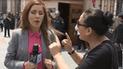 Fujimorista ataca a reportera que cubría detención de Keiko