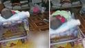Facebook viral: 'gatita' conquista el corazón de miles al hacer esto con un bebé [VIDEO]