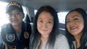 PNP adopta medidas contra agentes que se tomaron foto con Keiko Fujimori