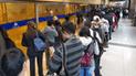 Metropolitano: falta de buses genera desorden en los paraderos