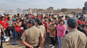 Chiclayo: desalojan de área pública a invasores de terrenos