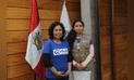 Escolares mujeres asumen cargos en el Día de la Niña