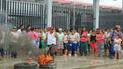 Tumbes: padres de familia protestan por retraso en construcción de colegio