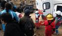 Huancavelica: docentes salvan de morir en volcadura de combi