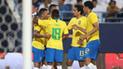 Brasil le ganó 2-0 a Arabia Saudita en duelo amistoso por la Fecha FIFA