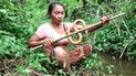 Facebook: mujer caza serpiente para luego hacer lo impensado, imágenes te dejarán espantado [VIDEO]