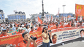 Gremio de trabajadores rechaza 'Ley Fujimori'