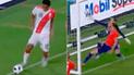Perú vs Chile: la 'Bicolor' se puso arriba gracias a un increíble autogol de Roco [VIDEO]