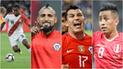 Perú vs Chile: el Top 5 de los jugadores más caros de ambas selecciones [FOTOS]