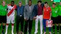 Perú vs Chile: Oblitas y Zamorano aparecieron previo al amistoso [VIDEO]