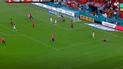 Perú vs Chile EN VIVO: Cabezazo de Santamaría que pudo ser el primer gol [VIDEO]