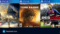Ofertas de PSN: PES 2019, Shadow of the Tomb Raider y mucho más con descuentos