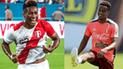 Pedro Aquino sufrió las bromas de André Carrillo luego de sus goles a Chile [VIDEO]