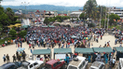 Junín: Cafetaleros bloquearan Carretera Central en La Oroya