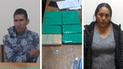 Dos personas fueron detenidas con 16 paquetes de cocaína en Terminal Terrestre de Arequipa
