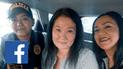 Facebook: analizan selfie de Keiko sonriendo y revelan que imagen sería real [FOTOS]