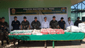 PNP decomisó media tonelada de droga durante operativo